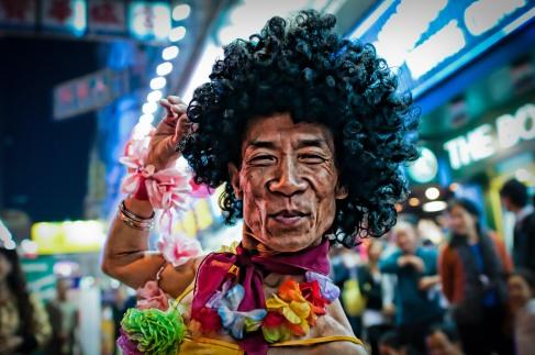 The Beautiful Man of Mong Kok